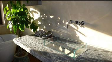 Salle de bain maison de vacances Bellevue