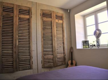 chambre maison de vacances bellevue dans le Gers