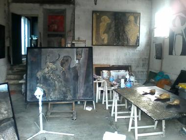 Atelier d'artiste Michel Campistron