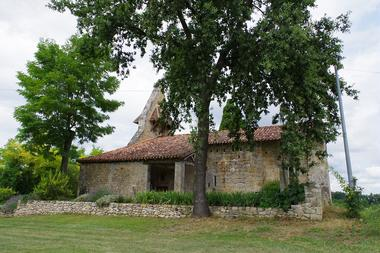 Eglise à Fourcès, Plus Beaux Villages de France