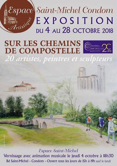 Exposition à l'Espace Saint Michel