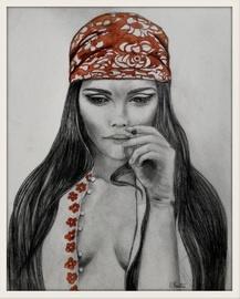 Peinture Marie