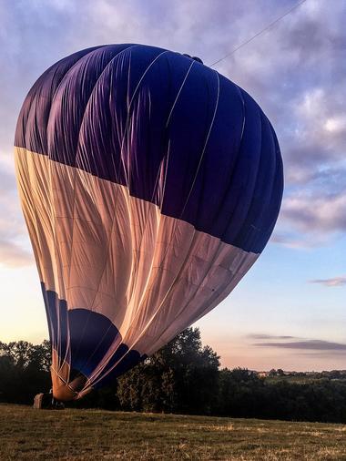 Survoler le Gers en montgolfière