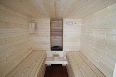 Sauna de l'hôtel Le Continental à Condom