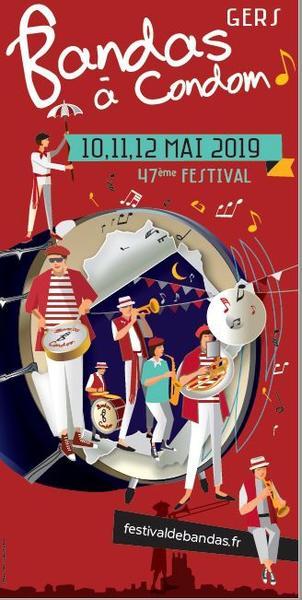 1e affiche festival bandas