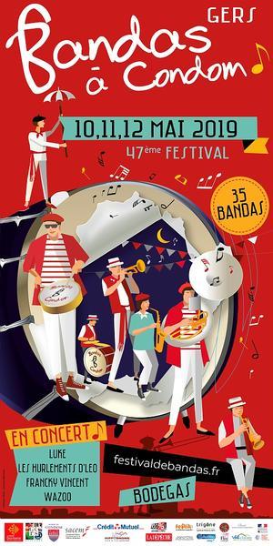 Festival de bandas y Penas à Condom