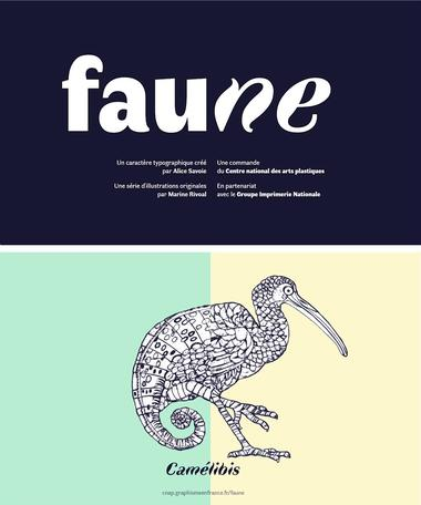 Affiche expo Faune