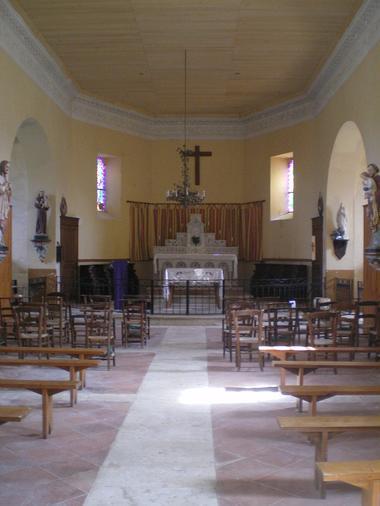 Eglise d'un village gascon