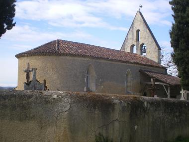 Eglise de Lagardère