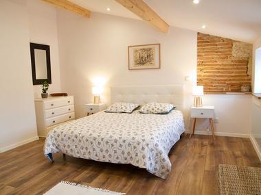 Chambre cocooning maison de vacances dans le Gers