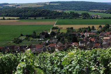 Panorama depuis le Mont de Bonneil