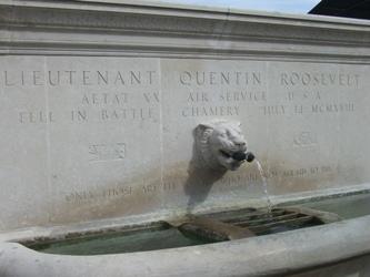 Monument Quentin Roosevelt SIM