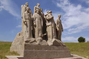 Monument des fantômes de Landowski < Oulchy-le-Château < Guerre 14-18 < WWI < Aisne < Picardie < France
