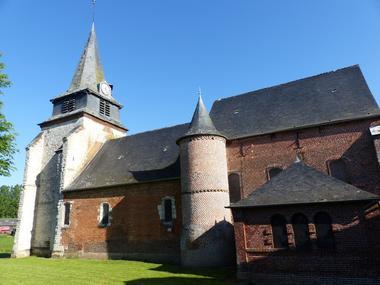 Eglise fortifiée de Nampcelles-la-Cour < Thiérache < Aisne < Picardie