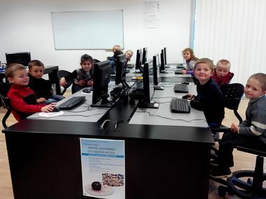 Accueil de classe informatique