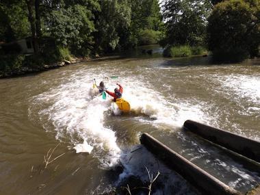 Aisne, BERTHENICOURT.  Journée des Moulins, Canoë-kayak. LESUR CCVO bis