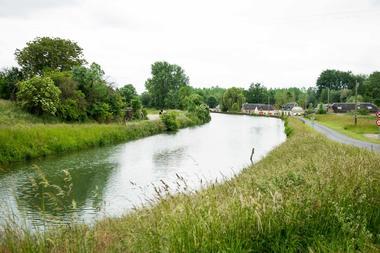 Au bord du canal de Saint-Quentin