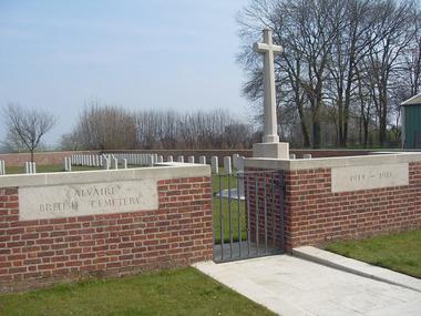 Cimetière du calvaire de Montbrehain < Guerre 14-18 < WWI < Montbrehain < Aisne < Picardie < France