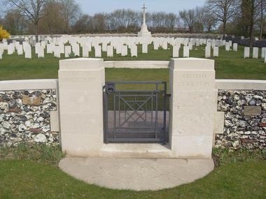 Cimetière britannique d'Hargicourt < Guerre 14-18 < WWI < Hargicourt < Aisne < Picardie < France