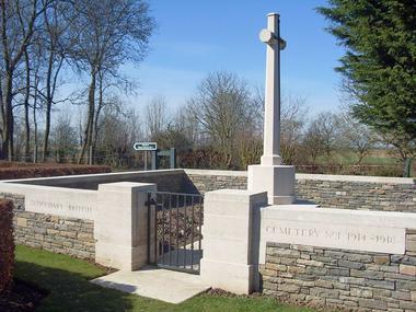 Cimetière britannique de Sequehart n°1 < Guerre 14-18 < WWI < Sequehart < Aisne < Picardie < France