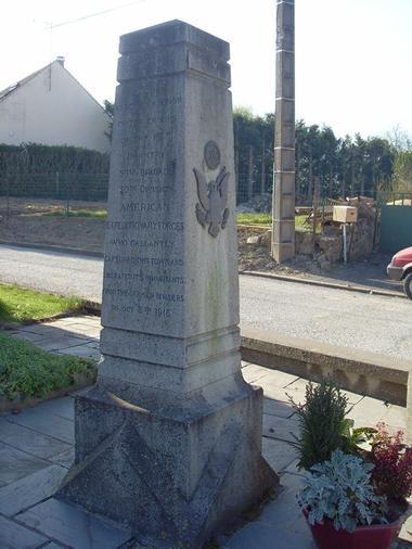 Monument américain de Brancourt-Le-Grand < Guerre 14-18 < WWI < Brancourt-Le-Grand < Aisne < Picardie < France