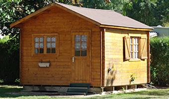Camping la Halte de Mainville_chalet en bois<Ressons le Long<Aisne<Picardie