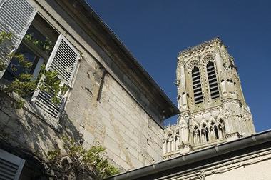 Cathédrale St-Gervais St-Protais_toits < Soissons < Aisne < Picardie