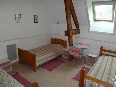 Chambres d'hôtes de Brellemont chambre2 < Septvaux < Aisne < Picardie