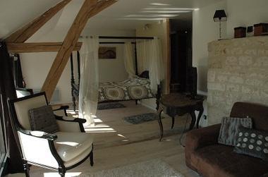 Château de Clermont les fermes chambre3 < Clermont les fermes < Aisne < Picardie