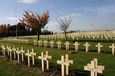 Cimetière militaire<Villers-Cotterêts<Aisne<Picardie