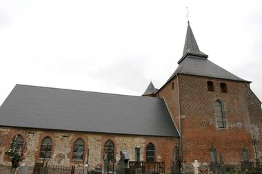 Eglise fortifiée de Rogny < Thiérache < Aisne < Picardie