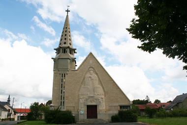 Eglise Saint-Martin 2015 II < Monthenault < Aisne < Picardie