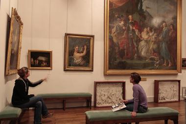 Musée d'art et d'archéologie salle beaux-arts < Laon < Aisne < Picardie