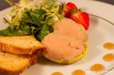 Foie gras maison < Auberge de la Brune < Burelles < Thiérache < Aisne < Picardie < Hauts de France