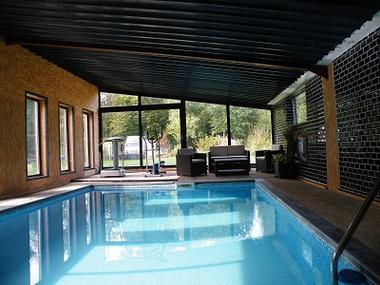 Gîte de Lorengrain piscine < Bruyeres et Montberault < Aisne