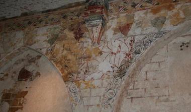 Hôtel-dieu fresques salle d'accueil < Laon < Aisne < Picardie