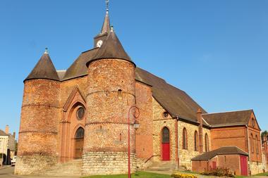 Eglise fortifiée < Wimy < Thiérache < Aisne < Hauts de France