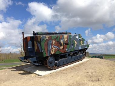 Copie du char Schneider II 2017 WWI < Berry-au-Bac < Aisne < Picardie