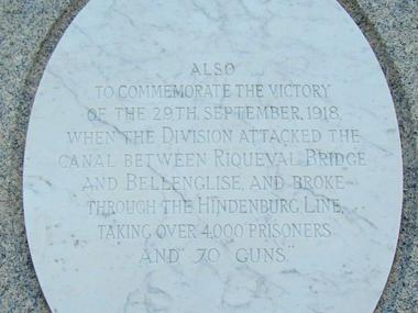Mémorial de la 46ème division Britannique