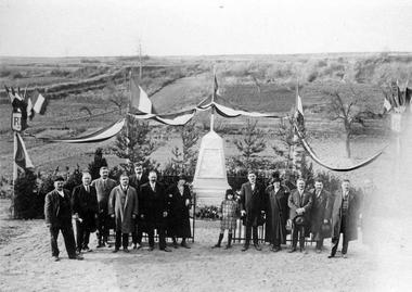 Inauguration du monument des fusillés de Vingré < Guerre 14-18 < WW1 < Aisne < Picardie < France