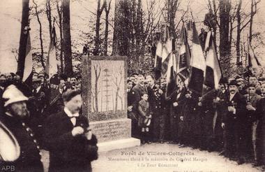 Inauguration du monument Mangin