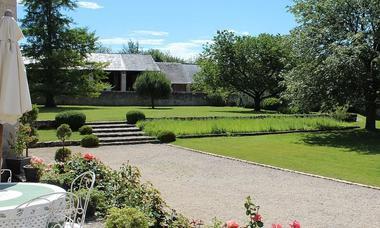 Jardin - Manoir de la cour