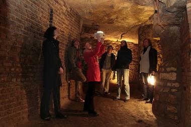 Visite des souterrains de Laon