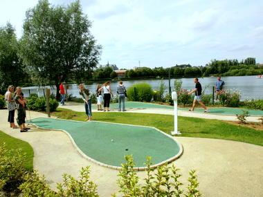 Mini golf de la plage de St Quentin