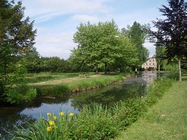 Les etangs du moulin 2ème vue < Fere en Tardenois < Aisne < Picardie