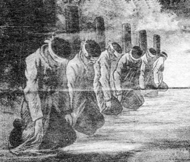 Poteaux d'execution des fusillés de Vingré < Guerre 14-18 < WW1 < Aisne < Picardie < France