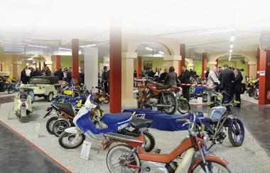 Vue Musée Motobécane