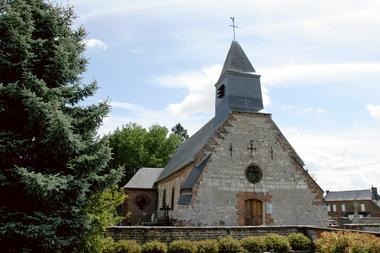 Eglise fortifiée de Wiège-Faty < Thiérache < Aisne < Picardie