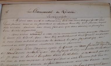 manuscrit monte cristo Dumas père©OT Villers-Cotterêts