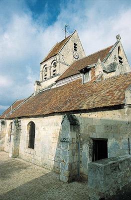 L'église de Pommiers